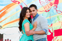 Karen & Diego Engagement Photos - Santa Monica Pier