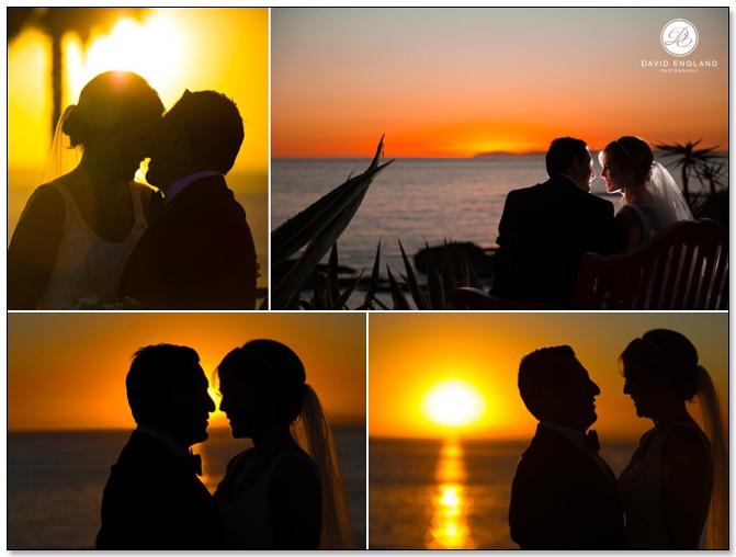 Treasure Island Beach Sunsent Wedding Photographer