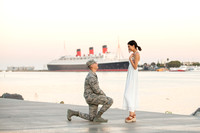 Johnathon's Engagement Proposal - Queen Mary Long Beach