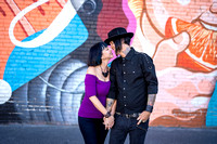 Nicolle & Tony Engagement Photos - Downtown Long Beach