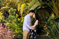 Engagement Photos South Coast Botanical Gardens-006