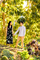 Engagement Photos South Coast Botanical Gardens-009