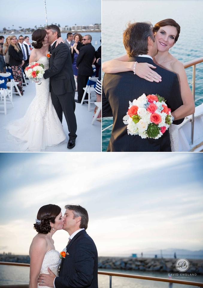Sunset wedding Marina Del Rey