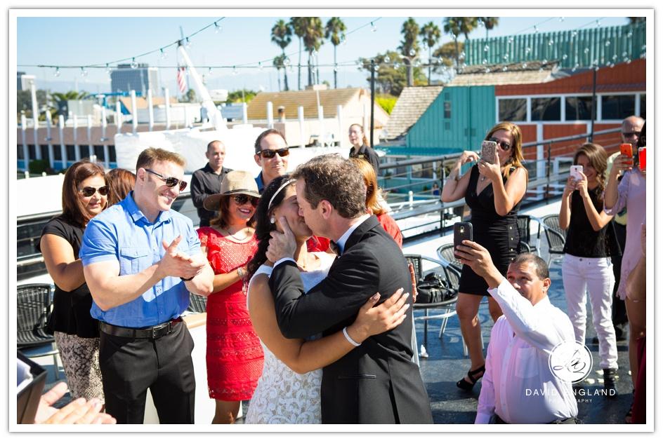 Hornblower Entertainer Yacht Wedding Marina Del Rey-65